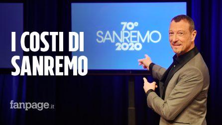 Sanremo 2020, i costi e i cachet del Festival: ecco quanto percepirebbero Amadeus e i co-conduttori
