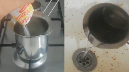Come eliminare i cattivi odori dal lavello