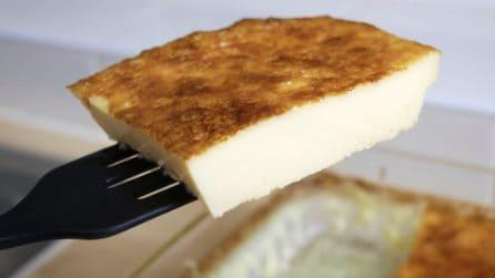 Torta uova e zucchero: la ricetta del dessert semplice e goloso