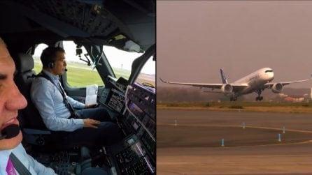 L'Airbus decolla da solo, è la prima volta nella storia
