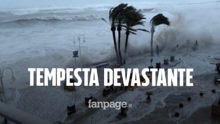 Tempesta Gloria devasta la Spagna, 10 morti: paura anche in Francia, è allerta rossa