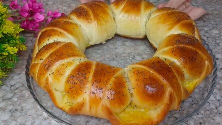 Ciambella brioche ripiena: la ricetta del dessert soffice e delizioso