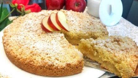 Sbriciolata alle mele: la ricetta per averla perfetta e fragrante