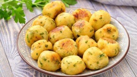 Palline di patate filanti: pronte in pochi minuti e con pochi ingredienti!