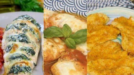 3 ricette per cucinare il pollo in modo originale!