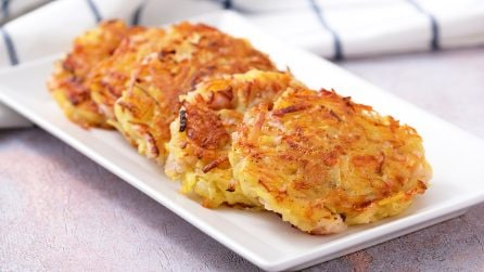 Rostì di patate: sfiziosi, facili e saporiti!