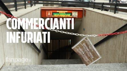 """Metro Barberini, slitta ancora la riapertura della metro: """"Ci hanno messo in ginocchio"""""""