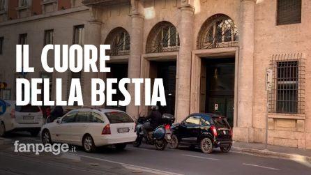 """Gli uffici della """"Bestia"""" di Salvini nel cuore di Roma, in via delle Botteghe Oscure"""