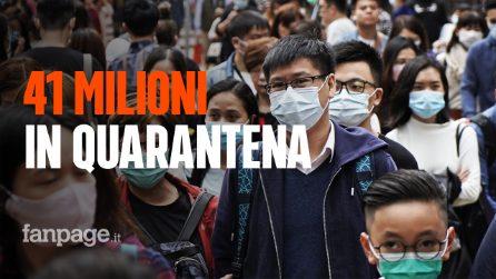 Coronavirus di Wuhan, 41 milioni di persone isolate in Cina: cosa sta succedendo