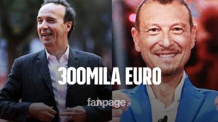 """Roberto Benigni a Sanremo per 300mila euro, Codacons: """"Pubblicate i compensi, pagano i cittadini"""""""
