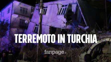 Terremoto in Turchia di magnitudo 6,8: almeno 20 morti, si cercano dispersi sotto le macerie
