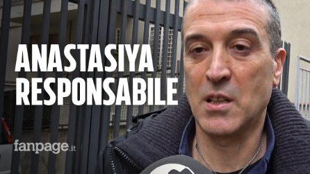 """Omicidio Sacchi: """"Mio figlio è morto da eroe, Anastasiya responsabile morale"""""""