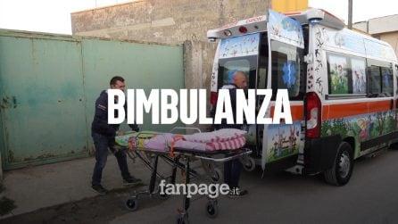 """La prima Bimbulanza d'Italia: è tutta colorata e a """"prova di bambino"""" (ed è gratuita)"""
