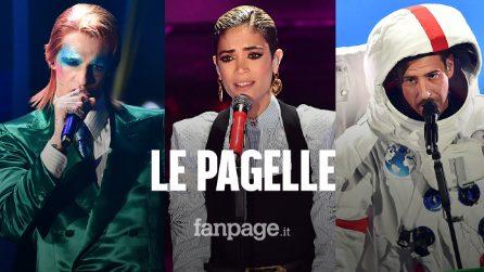 Le pagelle della terza puntata di Sanremo 2020: la classe di Tosca e Gualazzi tra 8 e 9