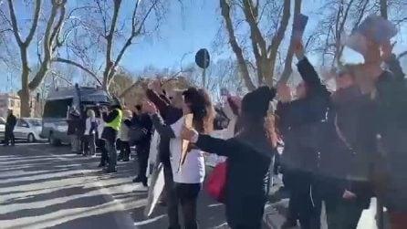 """Processo Vannini, cittadini manifestano in attesa della Cassazione: """"Giustizia per Marco"""""""
