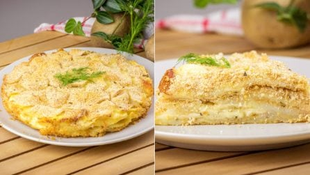 Potato Mille-Feuille: a delicious recipe ready in no-time!