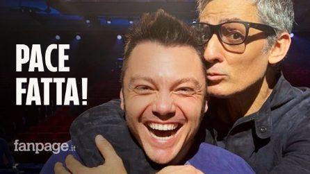 """Sanremo 2020, Fiorello contro Tiziano Ferro: """"Sono stato male per gli insulti"""" poi fanno pace!"""