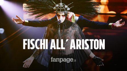 Sanremo 2020, fischi all'Ariston per Achille Lauro: ma al pubblico social piace molto