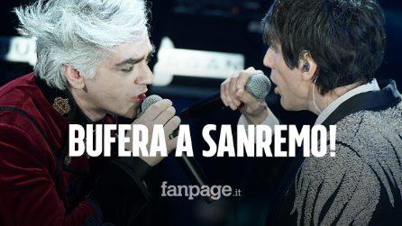 Sanremo 2020, Morgan e Bugo squalificati: la lite sul palco diventa canzone