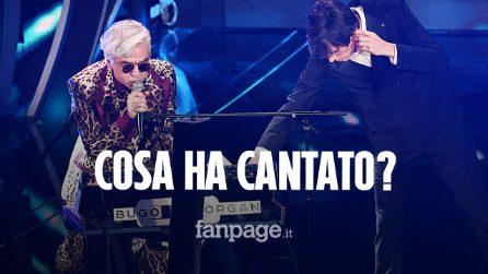 Sanremo 2020, ecco cosa ha cantato e cosa ha detto Morgan contro Bugo in diretta tv: il testo