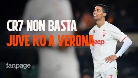 Verona-Juventus 2-1: Pazzini e Borini ribaltano il gol di Cristiano Ronaldo. Bianconeri sconfitti