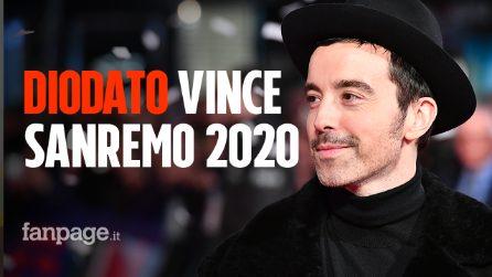 """Diodato è il vincitore della 70^edizione del Festival di Sanremo con """"Fai rumore"""""""