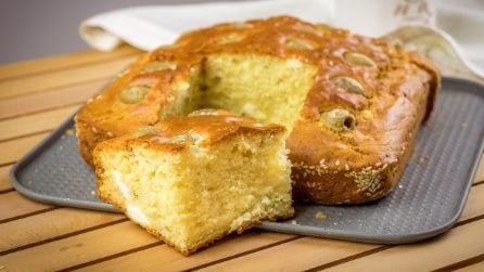 Focaccia alle olive verdi: la ricetta facile per un rustico da leccarsi le dita!