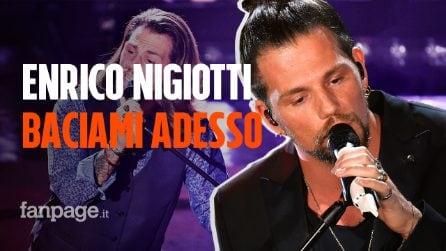 """Sanremo 2020, Enrico Nigiotti: il significato della canzone """"Baciami adesso"""""""