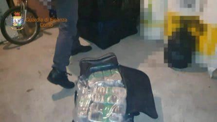 Como, 200 kg di droga e arsenale di armi da guerra nel garage: arrestato un 45enne