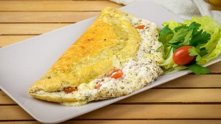Fluffy omelette: a nice recipe to try right now!