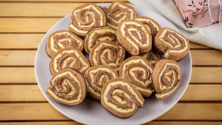 Chocolate pinwheels: kids will love them!