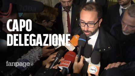 """M5s, Bonafede capo delegazione: """"Dialoganti? Porteremo la voce del Movimento"""""""