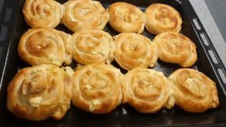 Girelle rustiche ripiene: la ricetta sfiziosa e piena di gusto