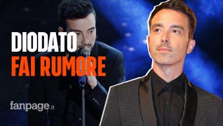 """Sanremo 2020, Diodato: il significato della canzone """"Fai rumore"""""""