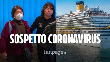 Coronavirus, nave da crociera ferma per controlli a Civitavecchia: bloccati a bordo in 6mila
