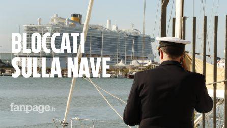 Nave da crociera ferma a Civitavecchia, in 6mila bloccati per sospetto coronavirus