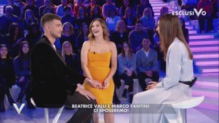 Beatrice Valli e Marco Fantini svelano la data delle nozze
