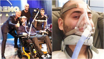 """È il più giovane malato di SLA d'Europa, Paolo canta sul palco di Sanremo: """"Il regalo più bello"""""""