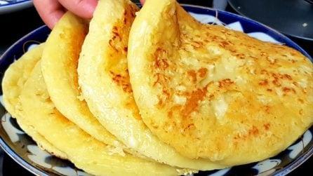 Focacce morbide al formaggio: la ricetta gustosa da servire al posto del pane