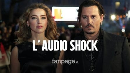 """Audio shock di Johnny Depp e l'ex Amber Heard. Lei ammette: """"Ti ho colpito"""", lui: """"Sono spaventato"""""""