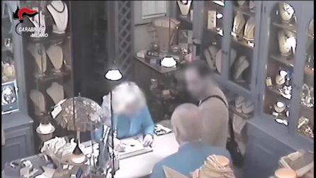 Segrate, anziani gioiellieri minacciati con la pistola: arrestati due rapinatori seriali