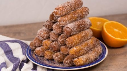 Sweet rice fritters: they are addictive!