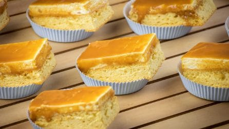 Caramel fluffy squares: they'll become everyone's favorite dessert!