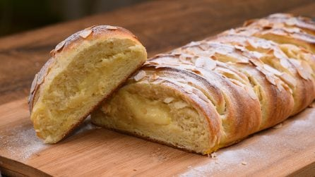 Creamy brioche braid: it's impossible to resist!