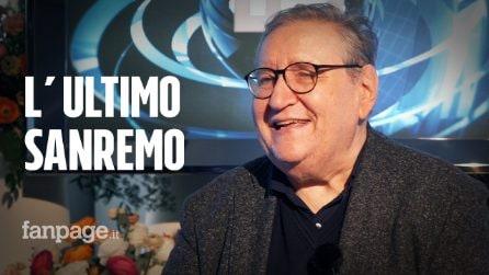 """Vincenzo Mollica e l'ultimo Sanremo: """"Esco in punta di piedi, i grandi mi hanno insegnato l'umiltà"""""""