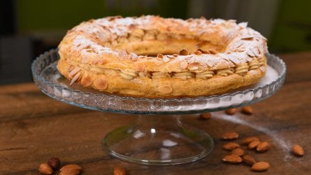 Paris brest with cream: a creamy dessert ready in no-time!