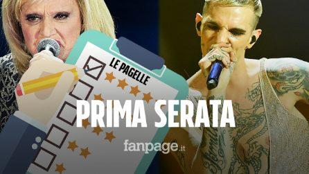 Sanremo 2020, le pagelle della prima serata: Achille Lauro 9, Le Vibrazioni sembrano una cover