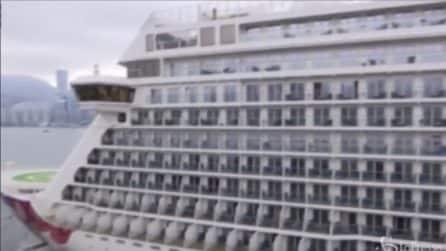 Coronavirus, a Hong Kong intera nave da crociera in quarantena