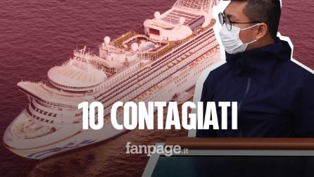 Coronavirus, 10 persone contagiate sulla nave da crociera in quarantena: a bordo altri 2.666 ospiti