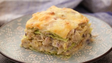 Cabbage lasagna: the perfect recipe for any night of the week!